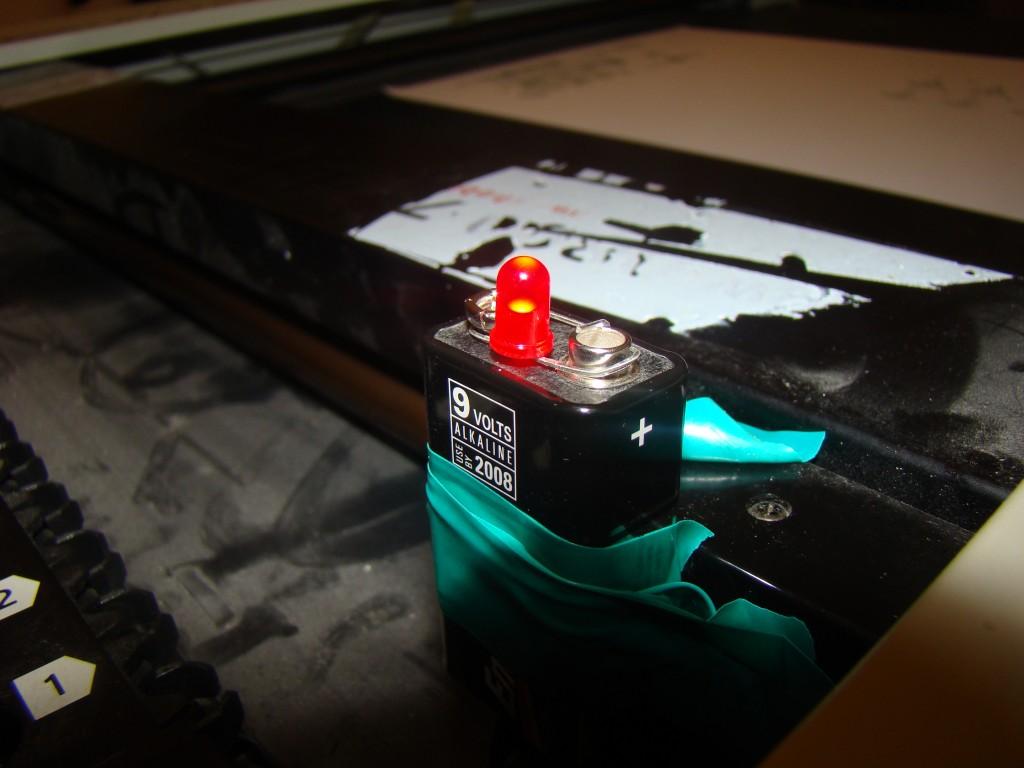 LED plotter