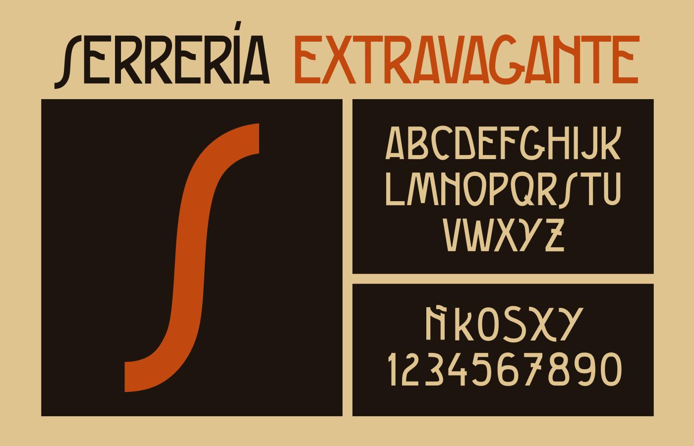 MFI Serrería Extravagante specimen