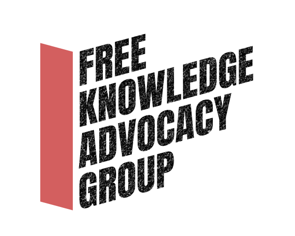 Free Knowledge Advocacy Group logo